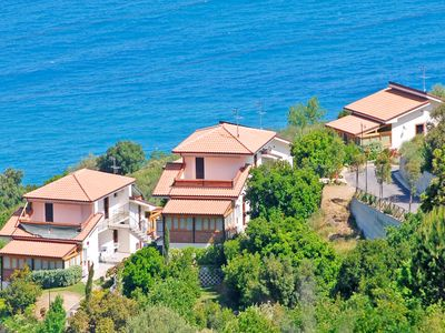 Photo for Villa in a residence with shared pool in Capo d'Orlando's hill 3km from the sea