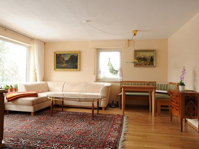 Photo for Apartment 1.3 km from the center of Löffingen with Parking, Internet, Washing machine, Terrace (88673)