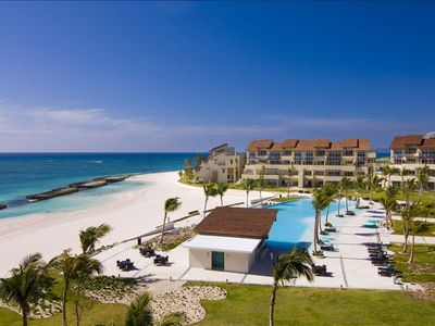Photo for Luxury 1st Line Beach Apartment in Cap Cana Spectacular Views