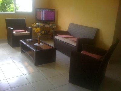 Photo for Bottom of villa for rent in diamond (F3)