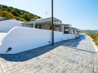 Photo for This 2-bedroom villa for up to 8 guests is located in Paros Island and has a private swimming pool,