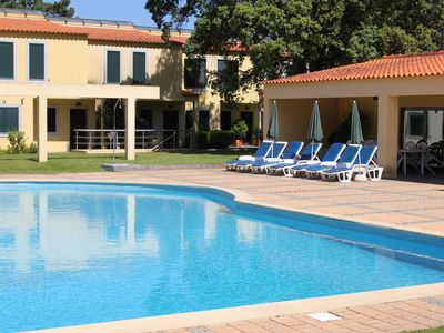 Photo for VILLA WITH 3 BEDROOMS, Pool and Tennis Court - Lanhelas - Walk
