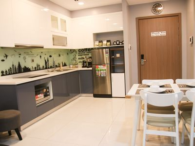 Photo for 1BR Apartment Vacation Rental in Phường 22, Ho Chi Minh City
