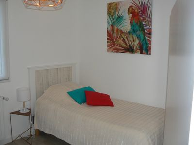 Photo for COCOONING VILLA WITH VERY LUMINOUS GARDEN WITH WIFI CLOSE TO THE SEA