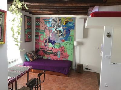 Photo for Very nice studio in the heart of Montmartre / Abbesses, 35m2