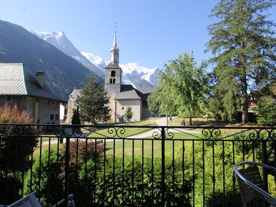 Photo for BEAUTIFUL APARTMENT FOR 6 PEOPLE IN TOWN CENTER WITH VIEW MONT BLANC