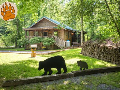 """Photo for """"NEW ON RENTAL""""  A wonderful and Romantic Cabin, Free area attraction Tickets."""
