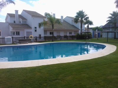 Photo for 3 Bedrooms Alcaidesa Golf Apartment + WIFI + Parking 2 cars inside