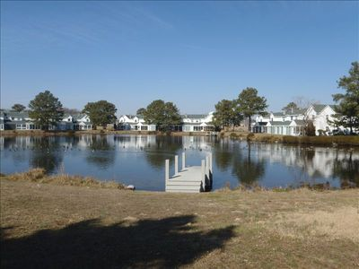 Photo for Mallard Lakes Adorable, Cheery Beach Cottage 2 Miles from Beach:  Fenwick
