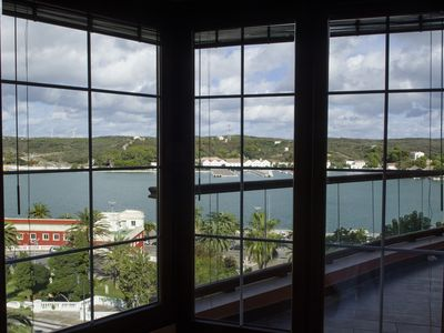 Photo for House on the Wall of Mahon Harbour with spectacular sea views