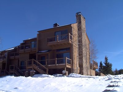 Photo for The Best Location!! Ski-in Ski-Out Cedars Townhouse (Rate includes all taxes)