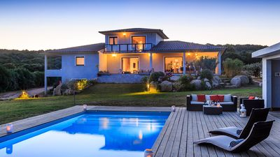 Photo for Corsican dream villa south heated pool
