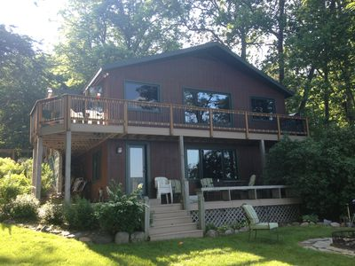 Photo for Family lake retreat in Hayward WI $500 off weekof June22-29