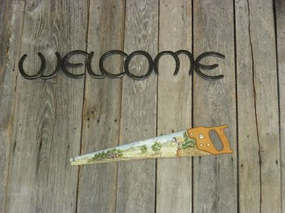 """Yes, """"Welcome!"""""""