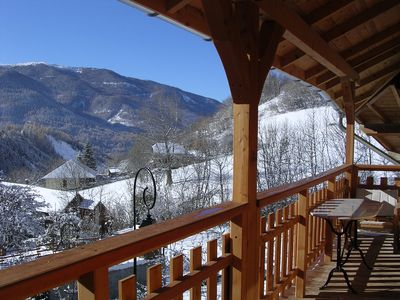 Photo for In mountain house Large apartment classified 3 stars for 8/10 people