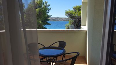 Photo for Apartment by the sea for 5ps 2 bedrooms ,free WIFI ,air cond , Sea view,