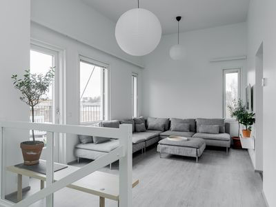 Photo for New luxury  2floor loft-style apartment by River