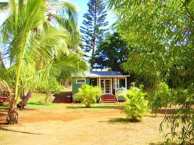 Photo for Charming Anahola Cabin ~ Short Walk to Beach