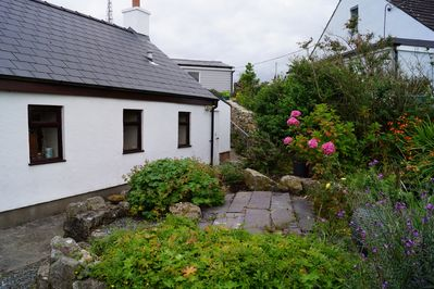 Cottage and front garden