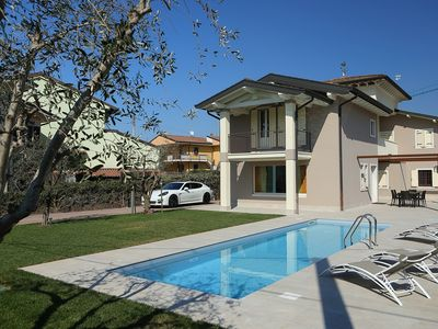 Photo for Luxurious Villa Zarina with garden and swimming pool for exclusive use