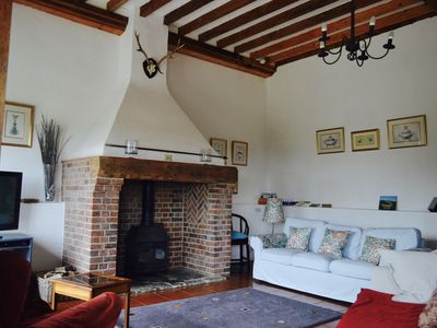 Photo for A charming thatched cottage in the heart of Dorset