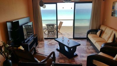 Photo for Two Bedroom Condo Beach Front - Great Ocean View - Best Location