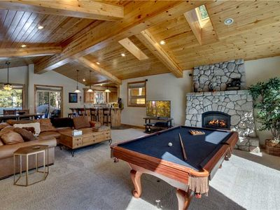 Photo for Spacious Tahoe Home with Pool Table, Minutes from Heavenly and Lake Tahoe (HV17)