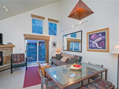 Photo for Flexible Summer Policies - Cozy, Clean Ski-In/Ski-Out 2-Bedroom Mountain Townhome