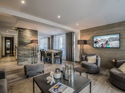 Photo for Lovely apartment in the heart of Courchevel 1850