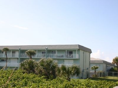 View from beach; unit third floor on the corner