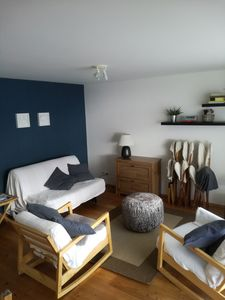 Photo for Apartment for 2 -4 people, on the ground floor with garden