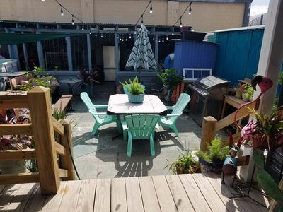Photo for Uptown Pool & Patio Paradise