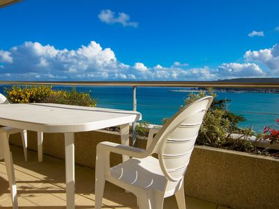 Photo for Sea view apartment for 4 persons in residence ****