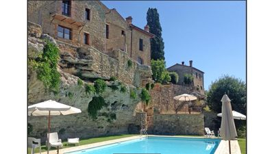 Photo for Oasis with swimming pool between the spas and the Crete Senesi