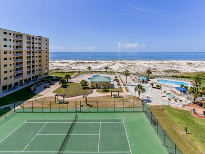 Photo for NEW LISTING! Spacious & inviting seaside condo w/shared pools, hot tub, sauna