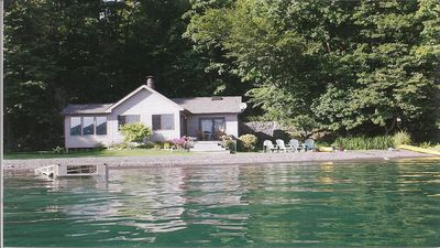 Photo for Lakeside Bungalow 30 feet from the water