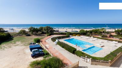 Photo for Very nice flat in front of the beach with a wonderful sea-view!!!