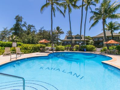 Photo for Kaha Lani #109, Ocean View, Ground Floor, Tropical Elegance, Steps to Beach