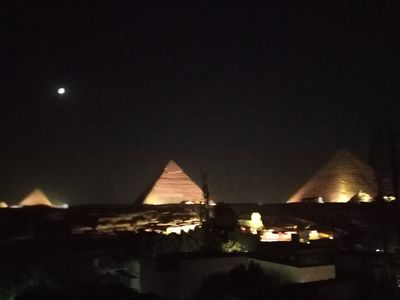 Photo for 3bedrooms apartment with pyramids View
