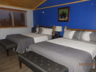 Photo for Denali Wildlife Wolf Cabin  Luxury with a touch of Rustic