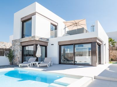 Photo for Modern Brand New 3 bedroom House with Pool, La Finca Golf.