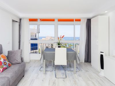 Photo for 63.First sea line Los Cristianos, parking, wifi, dishwasher