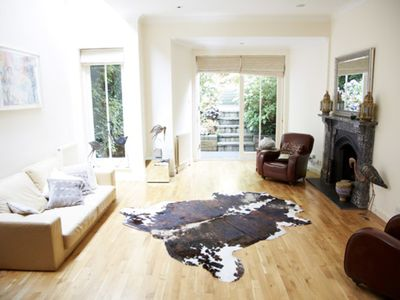 Photo for UP TO 20% OFF - Lovely 3 bed Hampstead home, complete with secret garden (Veeve)