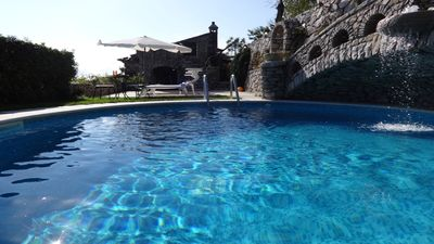 Photo for Villa Located in an enchanting position with private pool
