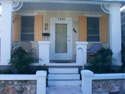 your very own full length front porch