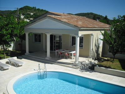 Photo for House with heated pool on Vallon Pont d'Arc