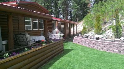 Photo for Cozy cabin close to Leavenworth Hot tub and great mountain views