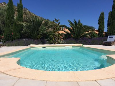 Photo for Luxury Villa With Private Pool in ancient wine village, close to sea.
