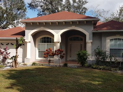 Photo for Executive custom large Villa, open rear views, close to All The Main Theme Parks/shops