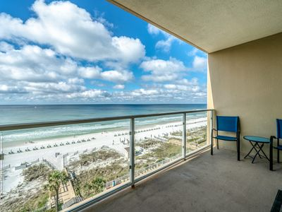 Photo for 2BR Sterling Sands Gulf Front Condo ~ Best Gulf Views ~ Beach Svce Included!
